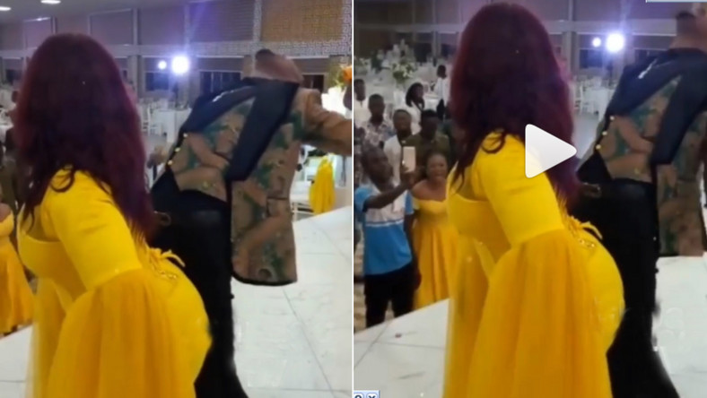 Rev Obofour and wife get resounding applause for doing extremely raunchy dance in public (video)