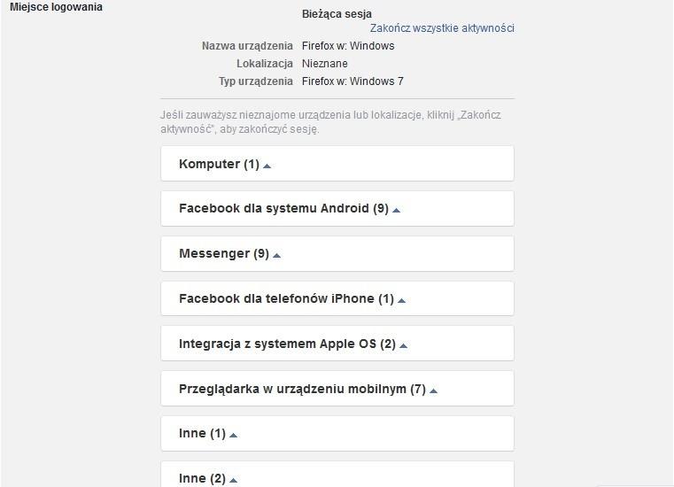 d1ef021cec7a4b Jak sprawdzić, czy ktoś loguje się do mojego Facebooka? - Noizz