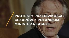 Protesty przeciwko wręczaniu Cezarów przez Romana Polańskiego