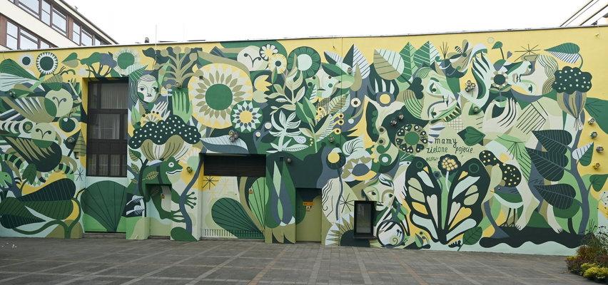Niezwykłe miejsce we Wrocławiu. Stworzyli żywy mural!