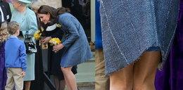 Płaszcz Kate wstrząsnął Anglią