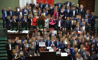 Kancelaria Sejmu: Pracownicy jednego z klubów mieli prawo przebywać na Sali Kolumnowej