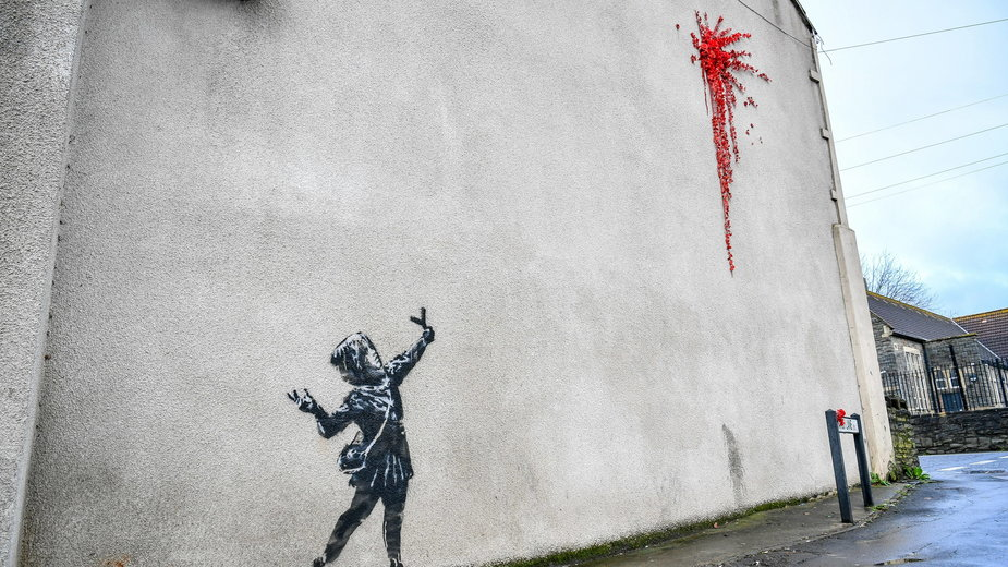 """Valentine's Day Banksy"""