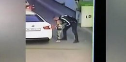 Matka płaciła na stacji, on zwabił i porwał jej córeczkę. Nagranie mrozi krew
