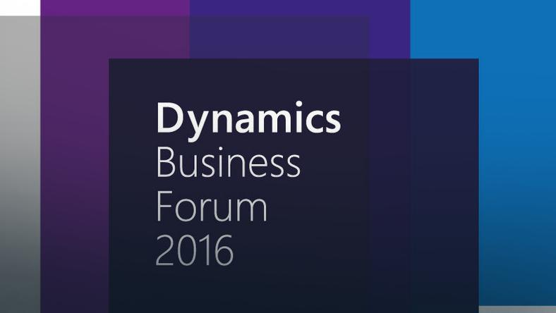 Dynamics Business Forum 2016
