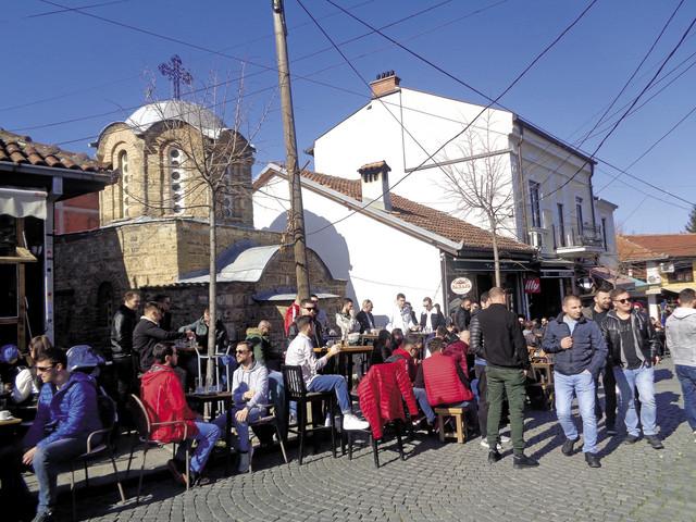 Život: Prizrenski korzo Šedrvan je poput beogradske Knez Mihailove. Ova su dva grada bila pre rata i pobratimi