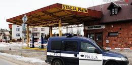 Napad z bronią na stację paliw. Bandyci na wolności