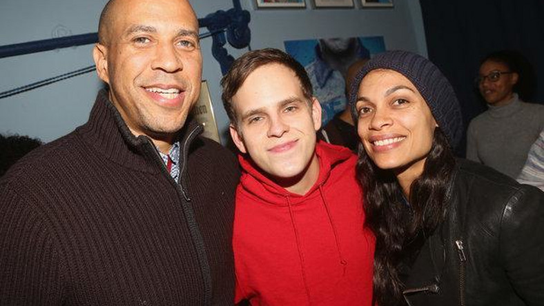 Rosario Dawson says she is dating Cory Booker, confirming rumors
