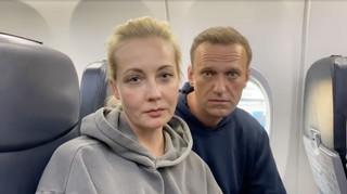 Julia Nawalna zwolniona z komisariatu policji