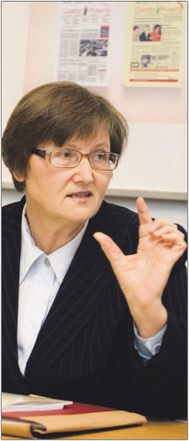 Józefina Hrykiewicz, profesor z Uniwersytetu Warszawskiego. Wcześniej pełniła funkcję dyrektora Krajowej Szkoły Administracji Publicznej Fot. Wojciech Górski