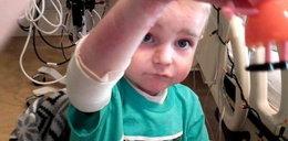 Potworne cierpnie 4-letniego Kajtka. Stał się cud!