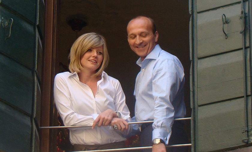 Kazimierz Marcinkiewicz i Izabela Olchowicz w Wenecji