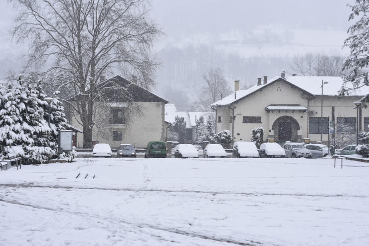 Ivanjica, Sneg, Mart