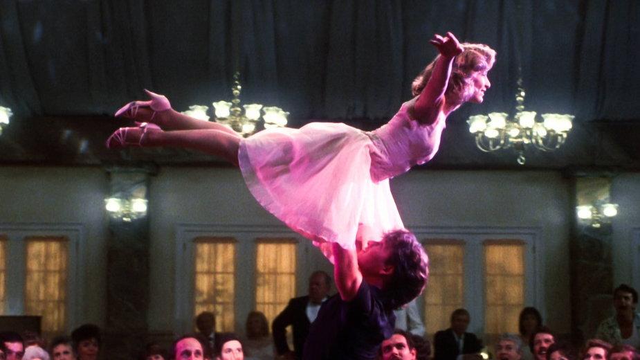 """Jennifer Grey i Patrick Swayze w filmie """"Dirty Dancing"""""""
