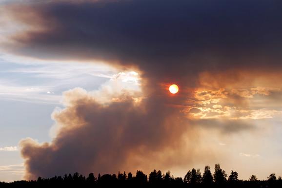 Dim kulja iznad Švedske