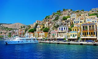 Lepiej omijać Santorini i Rodos. ECDC odradza podróże na greckie południowe wyspy