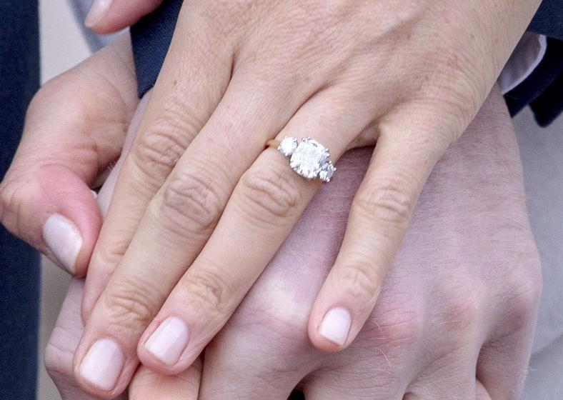 Pierścionek zaręczynowy Meghan Markle