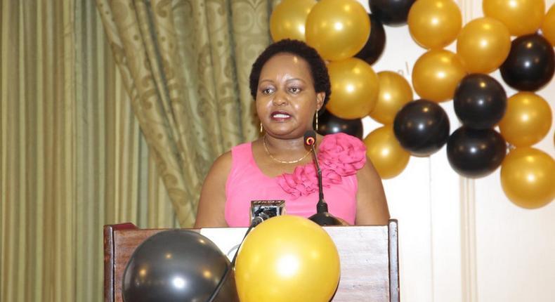 File image of Kirinyaga Governor Anne Waiguru. She got engaged to Kamotho aiganjo on 16 Feb 2019