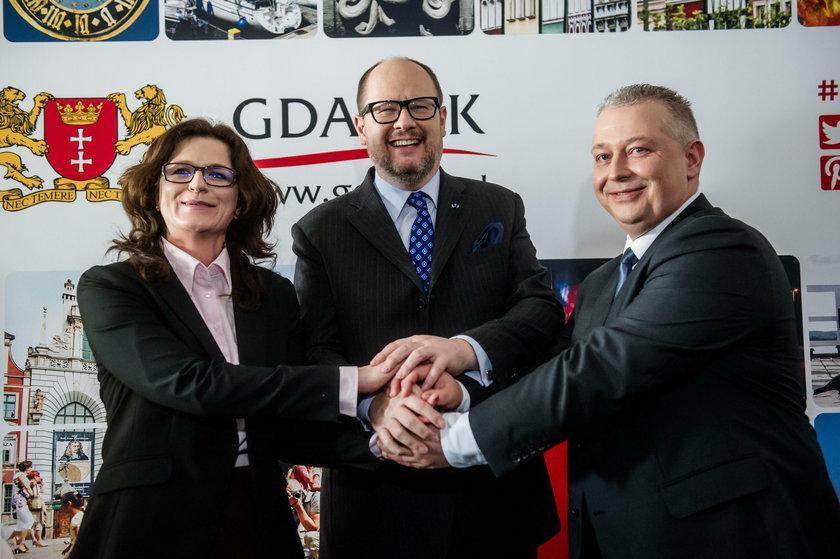 Aleksandra Dulkiewicz będzie rządzić w Gdańsku po śmierci Pawła Adamowicza