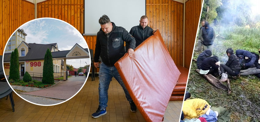 W Michałowie przy granicy mają dość obojętności. W odruchu serca mieszkańcy sami organizują ośrodek pomocy migrantom