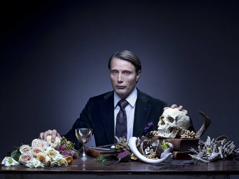 "Madds Mikkelsen w serialu ""Hannibal"""