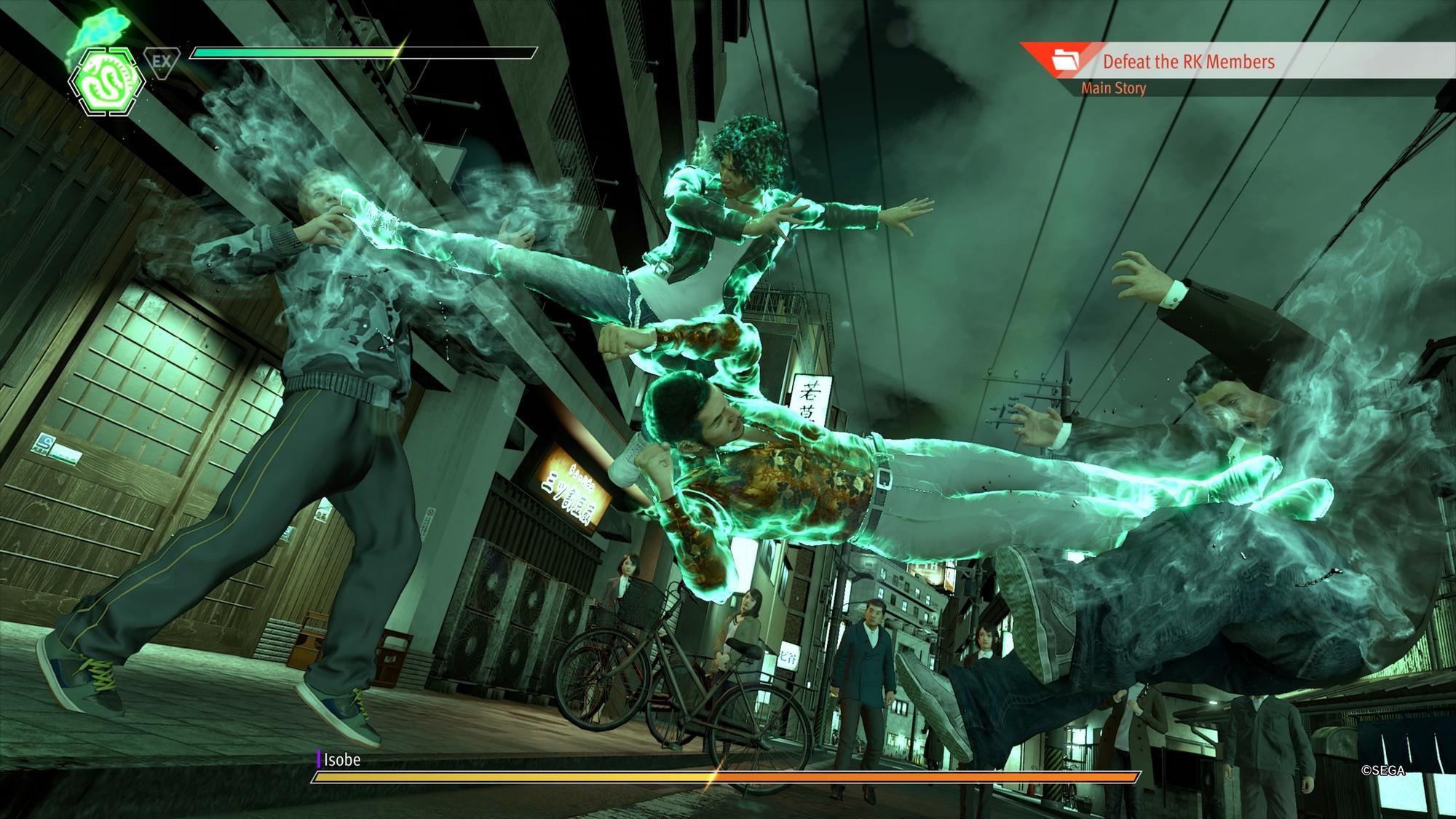 Hráč má tentokrát k dispozícii tri bojové postoje s vlastnými chvatmi a technikami.