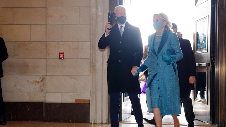 Prezydent-elekt Joe Biden z żoną