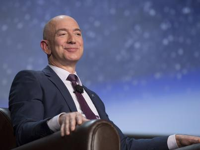 "Jeff Bezos, właściciel ""Washington Post"""