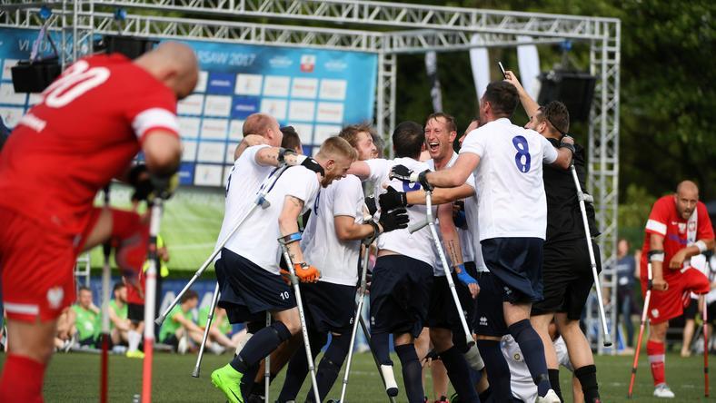 AMP Futbol Cup : Polska przegrała z Anglią w finale