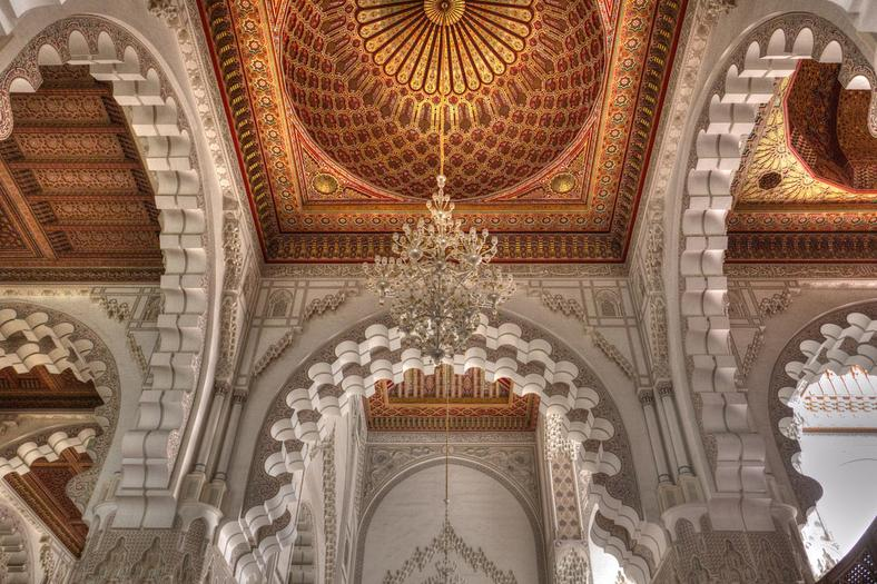 Hassan II Mosque - Interior