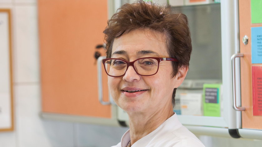 dr Barbara Radecka, specjalista onkologii klinicznej z Opolskiego Centrum Onkologii