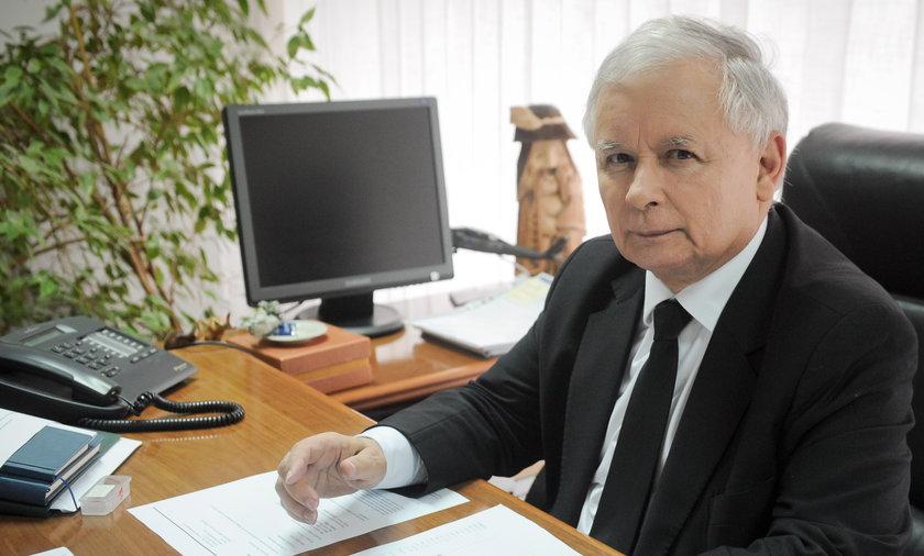 Jarosław Kaczyński ostro o przeciwnikach PiS