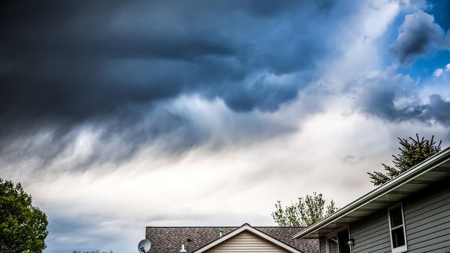 burza, wiatr, trąba powietrzna, burze