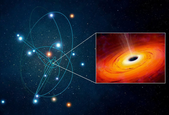 Crna rupa u središtu naše galaksije