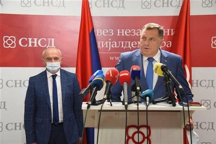 Milorad Dodik - Petar Đokić