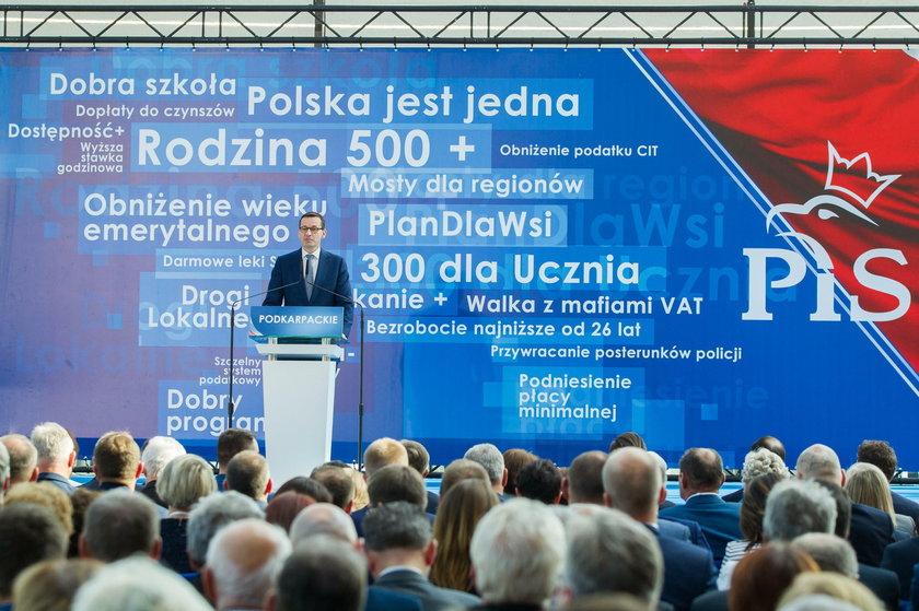 Kaczyński chce przemienić Podkarpacie w Bawarię