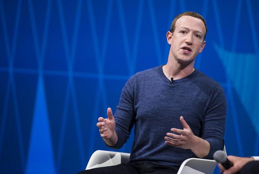 Mark Zuckerberg z majątkiem wartym około 100 miliardów dolarów w tym rankingu zajmuje 5. miejsce