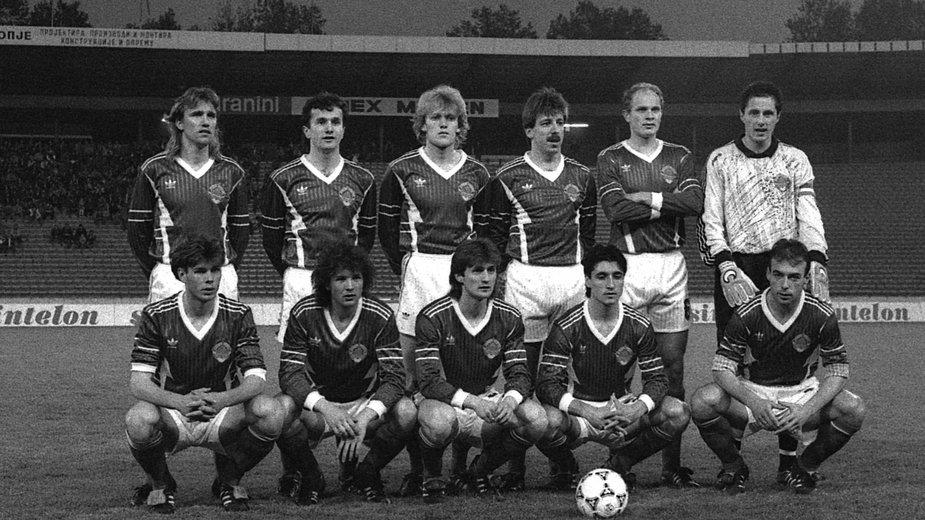 Jugosławia w meczu z Wyspami Owczymi w el. Euro 1992