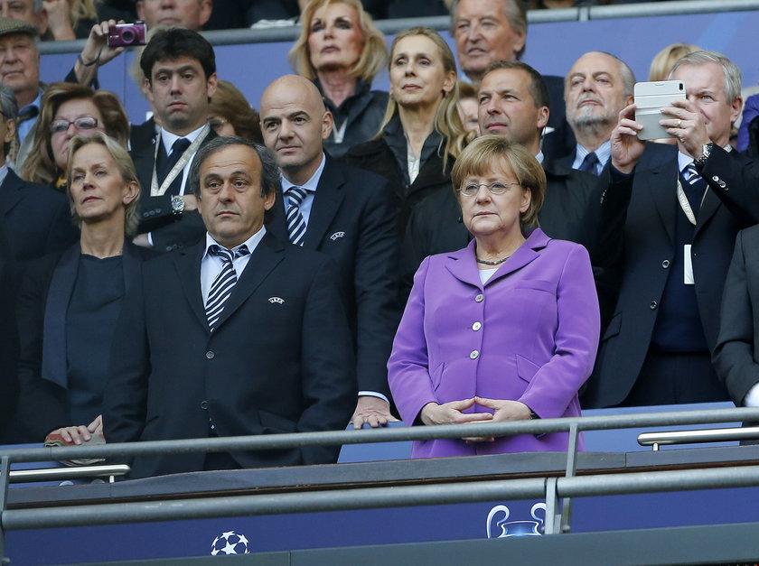 Angela Merkel obejrzy na żywo mecz Niemców