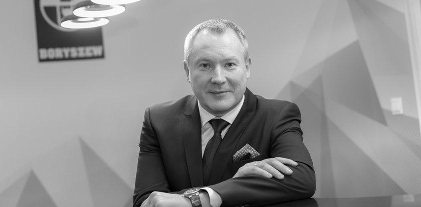 Nie żyje Piotr Lisiecki. Był prezesem zarządu Boryszewa