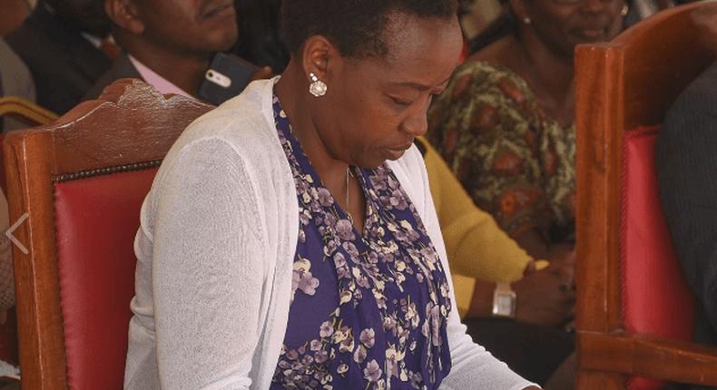 Deputy President William Ruto's wife Rachel Ruto