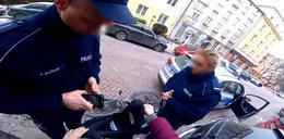 Szokujące zatrzymanie rowerzysty w Warszawie. Oświadczenie policji