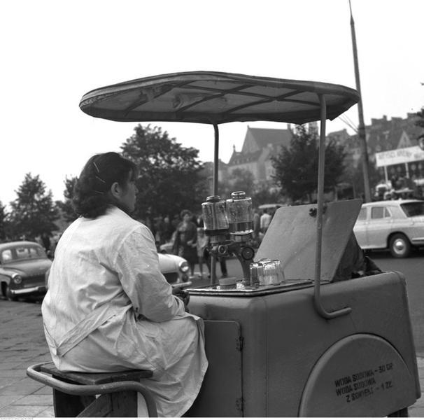 Saturator w Warszawie, 1969 r.