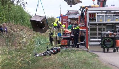 Wypadek przy zbiorze owoców w Holandii. Ciężko ranni Polacy
