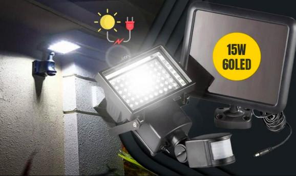 Solarni reflektor sa senzorom