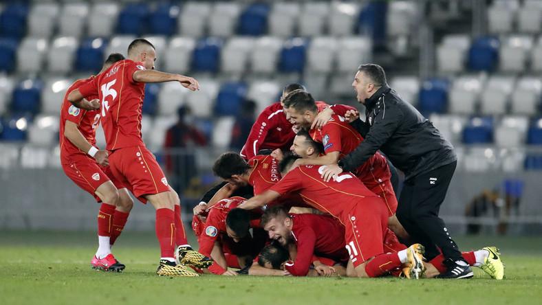 Piłkarze reprezentacji Macedonii Północnej