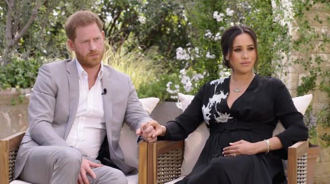 Megan Markl i princ Hari u intervjuu sa Oprom Vinfri