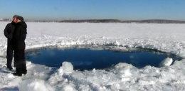 Bóg cisnął meteorytem w jezioro? Zapowiedź apokalipsy?