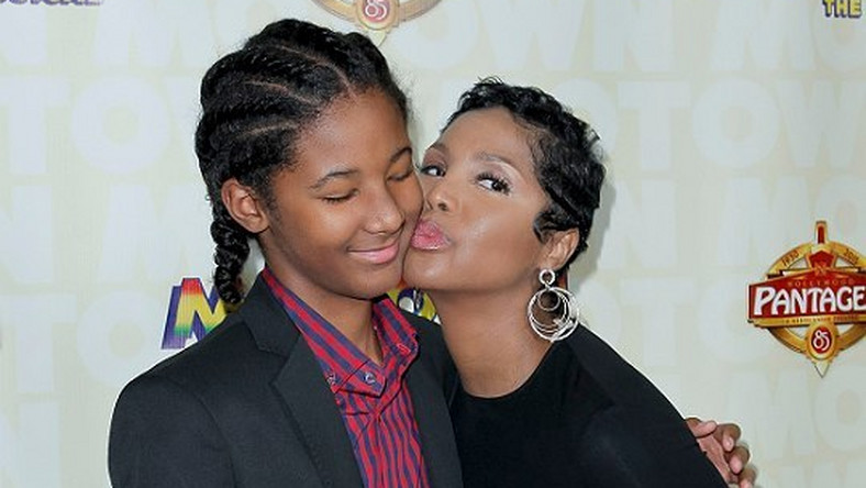Toni Braxton and son, Diezel