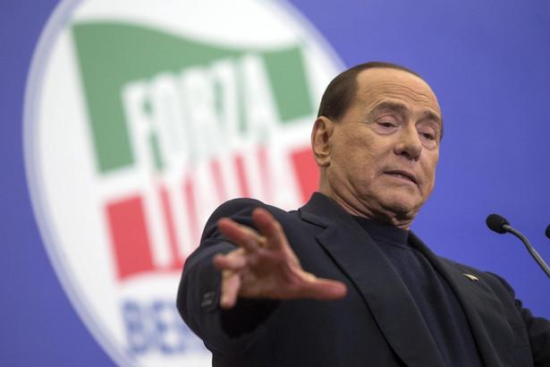 Silvio Berlusconi. Fot. EPA/ANGELO CARCONI/PAP/EPA